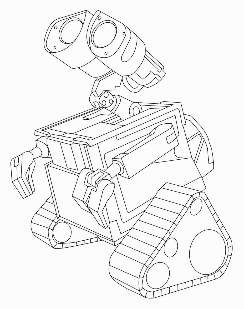 Wall E Coloring Page Free Kids Coloring Pages Coloring Pages Disney Coloring Pages