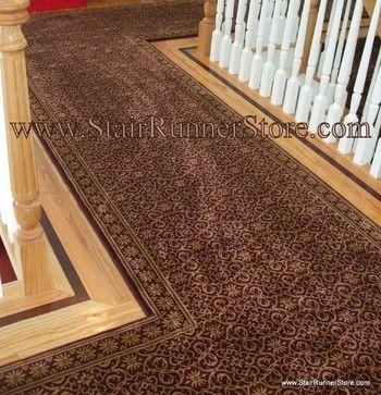 Hallway Runner Installations   Spaces   New York   The Stair Runner Store    Creative Carpet