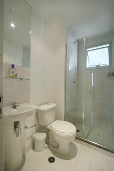 Banheiro do apartamento de 3 dormitórios do Projeto Viver