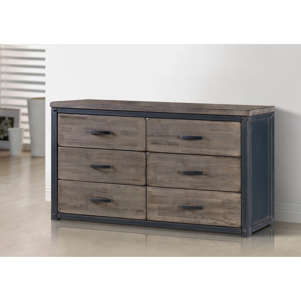 This Heritage Dresser Is Rustic In Feel And Sturdy In Construction With A  Vintage Looking
