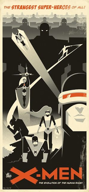 Retro Posters by Eric Tan