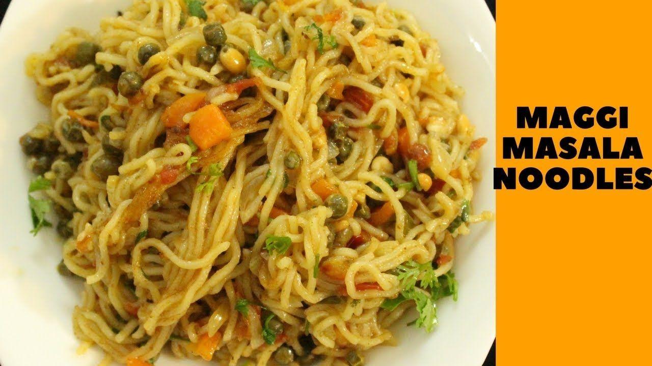 Maggi Masala Recipe Maggi Noodles Indian Street Style Veg