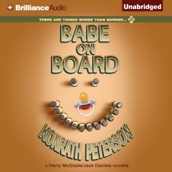 """J.A. Konrath fans! His """"Babe on Board was recently published in audio. Sample it here:"""