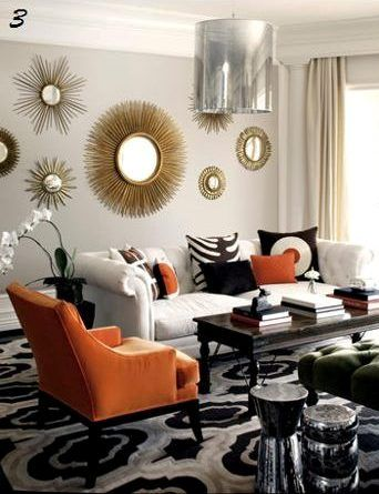 Make A Splash With Citrus Orange And Tangerine Home Decor