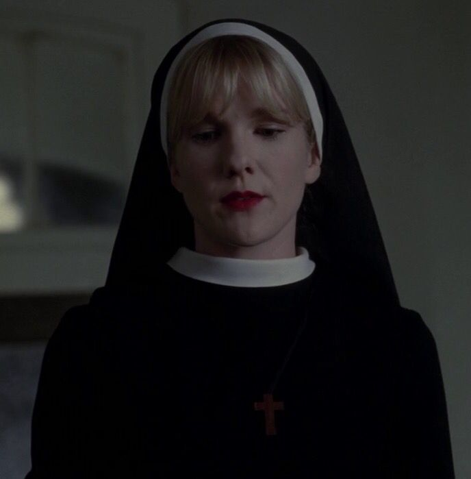 Lily Rabe as Sister Mary Eunice in AHS: asylum | American