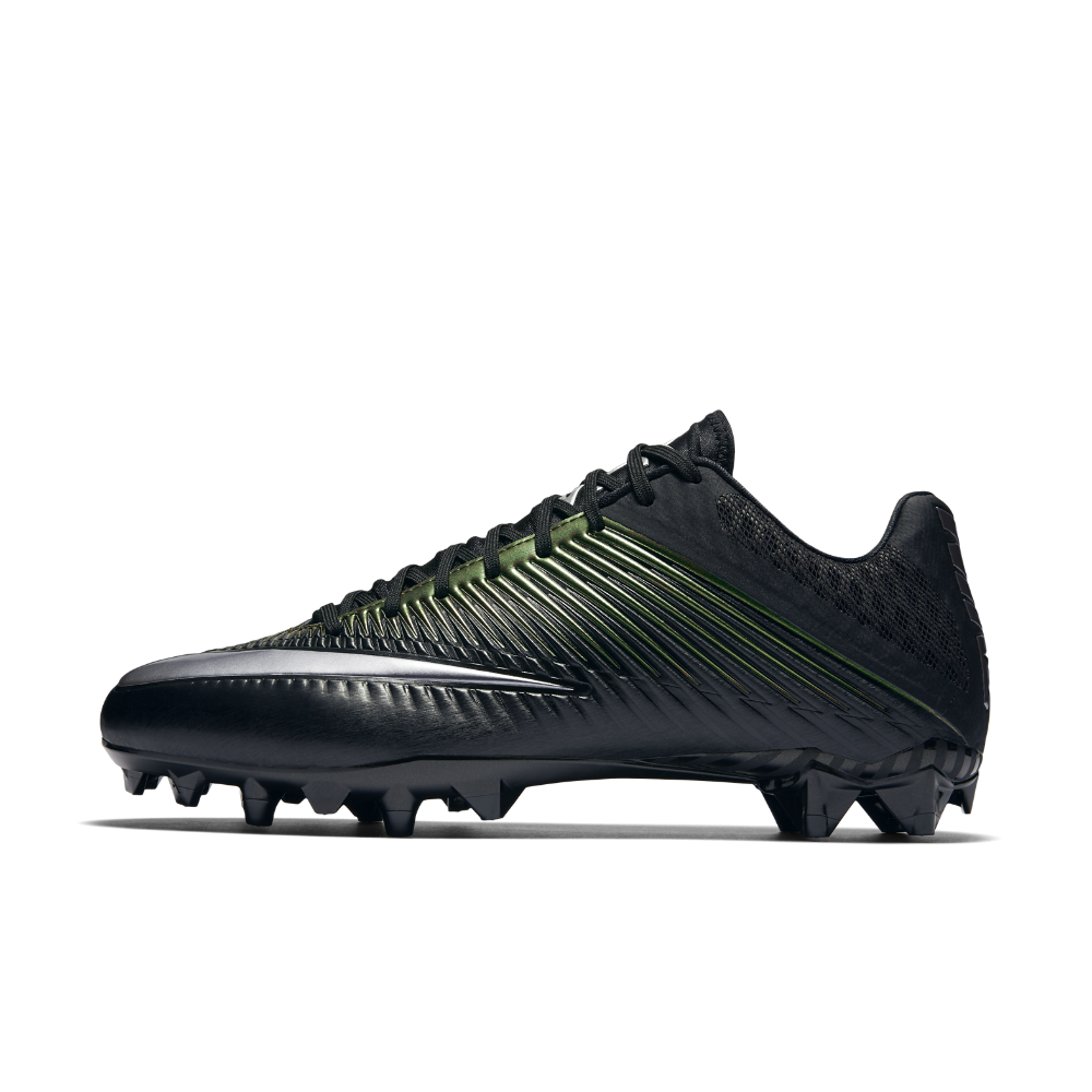 2fd6df6d53ab Nike Vapor Speed 2 TD Men s Football Cleat Size 9.5 (Black) - Clearance Sale
