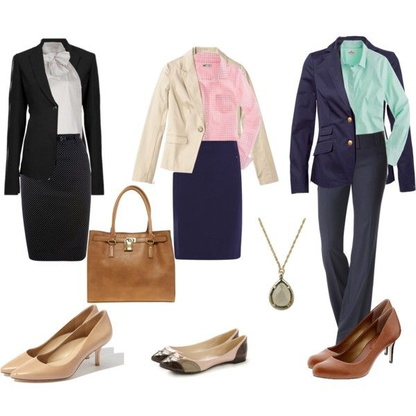 Bank Interview Simply Style Fashion Outfits Professional Dresses