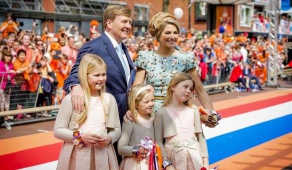 Bekende Nederlanders vieren Koningsdag — Wel.nl