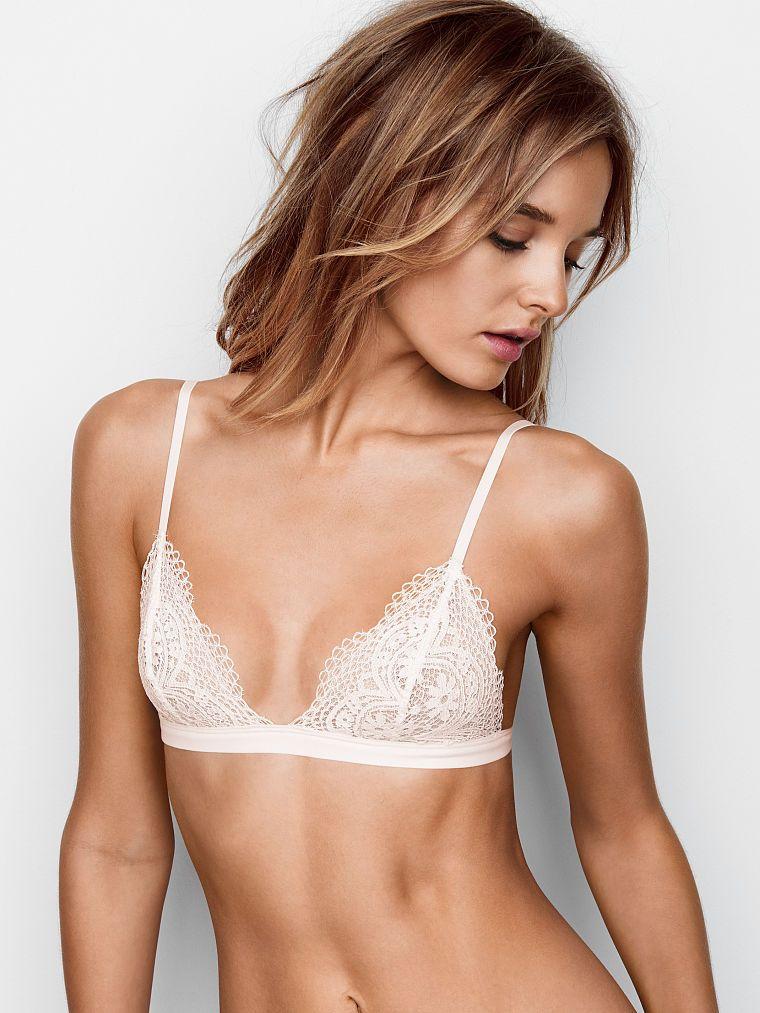 Crochet Lace Triangle Bralette - The Victoria's Secret Bralette Collection  - Victoria's Secret