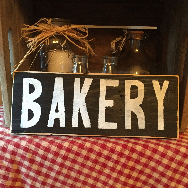 Rustic bakery Kitchen Sign, Farmhouse Decor, Kitchen Decor