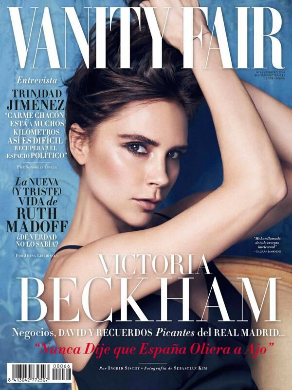 Oh No They Didn't! - Victoria Beckham Covers Vanity Fair Spain & Italy + Crushes Our Spice Girls Dreams