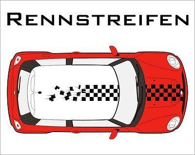 Mini Cooper One Fiat Citroen Aufkleber Rennstreifen Rally