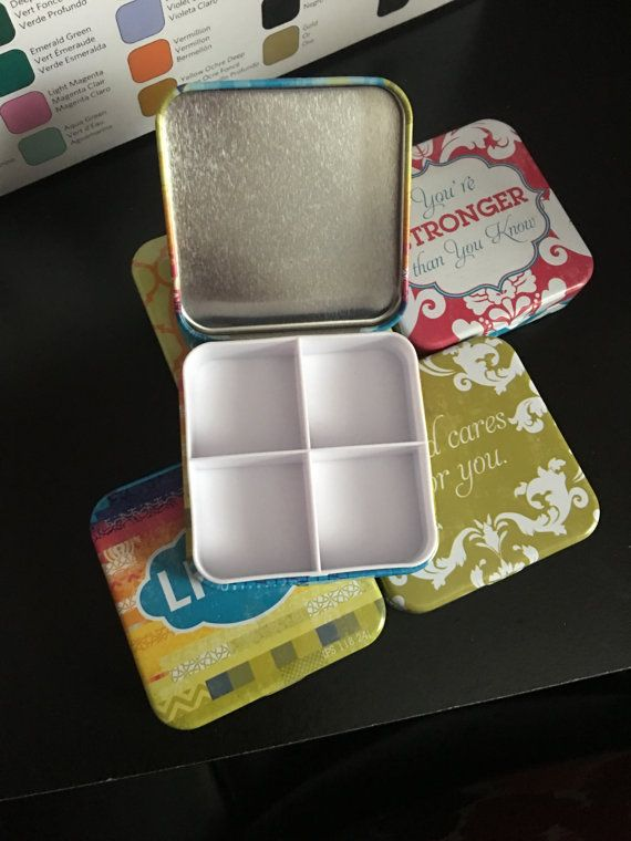 A Cute Deep Well Palette For Watercolors Perfectly Portable For