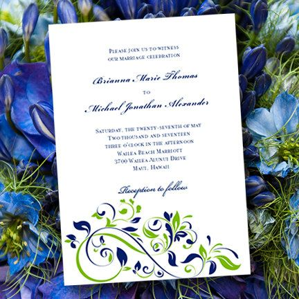 Wedding Invitation Template  - invite templates for word