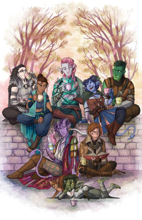 Welcome to The Mighty Nein   Critical role characters ...