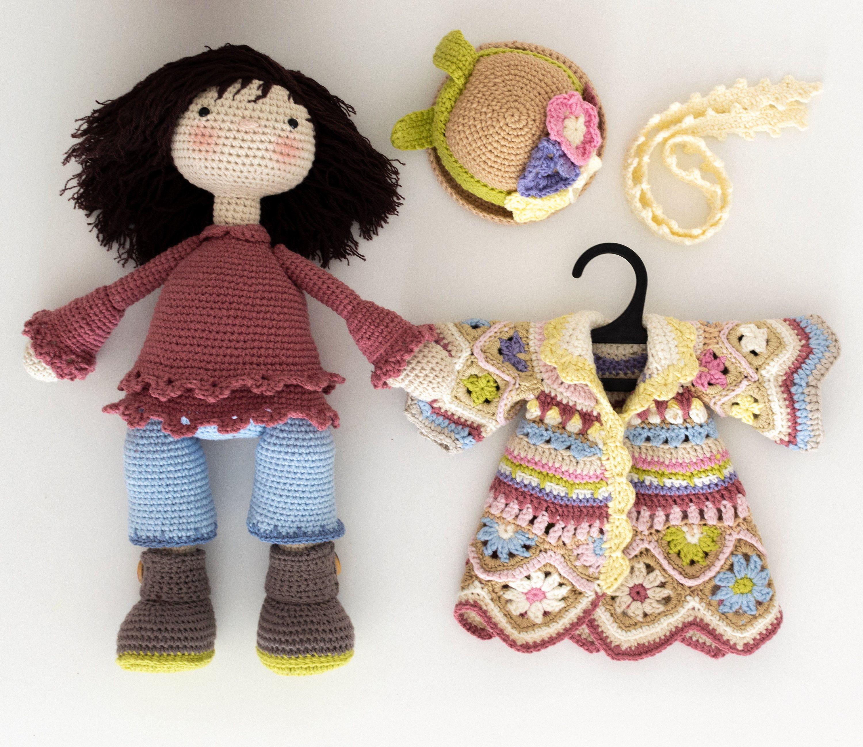 Amigurumi Bebek Elbise Yapımı | Baby knitting patterns, Bebekler ... | 2595x3000