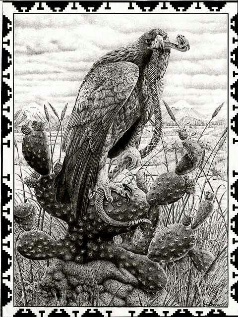 Eagle And Serpent Brown Pride Pinterest Eagle Aztec And Chicano