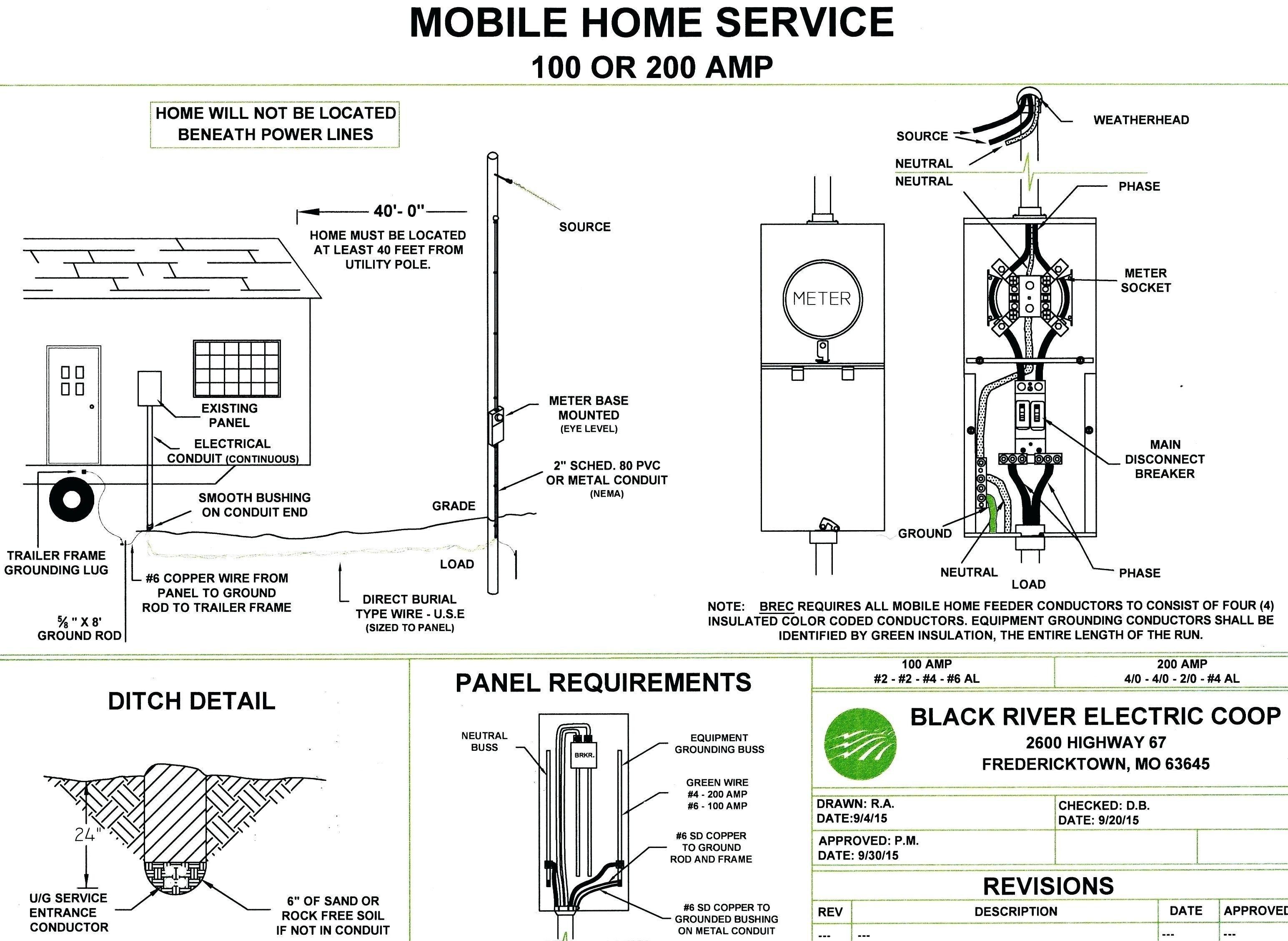 New Wiring Diagram Mobile Home Diagram Diagramsample