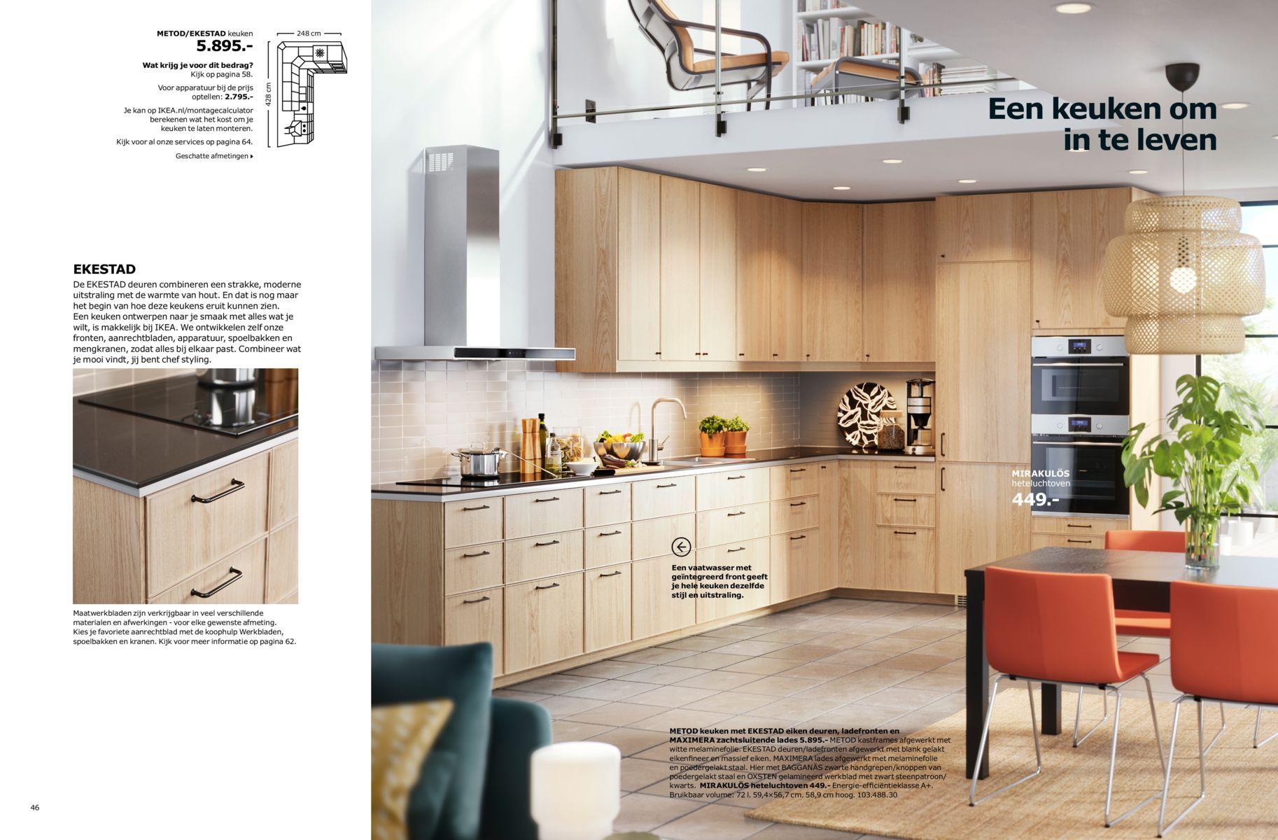 Handige Opstelling Droomhuis Keukens Ikea Keuken En Ikea