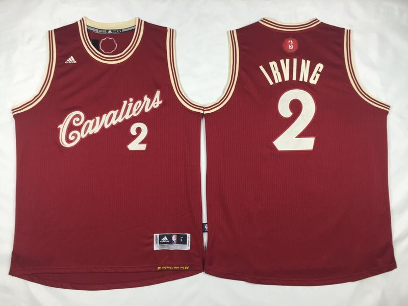 $21.5 Adidas Cleveland Cavaliers #2 Kyrie Irving Red 2015-2016 ...