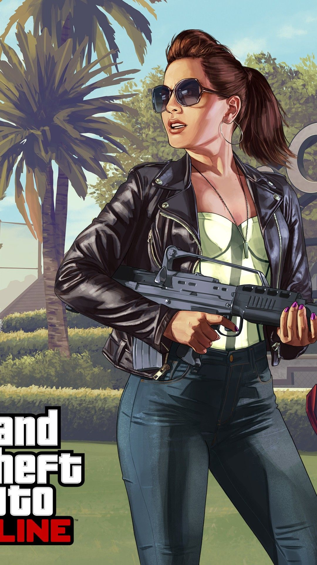 Gta V Wallpaper San Andreas Gta Gta Comics Girls