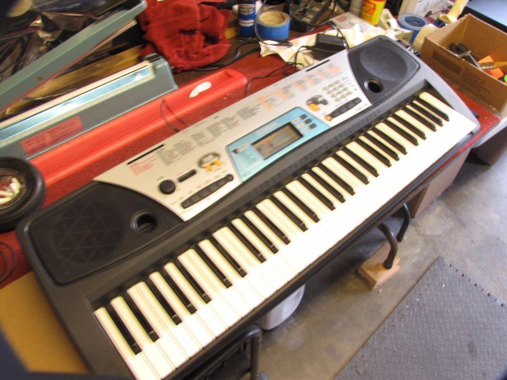 Yamaha Psr 170 Portable Electronic Keyboard Battery Or Ac Powered W Power Cord Ac Power Electronics Yamaha
