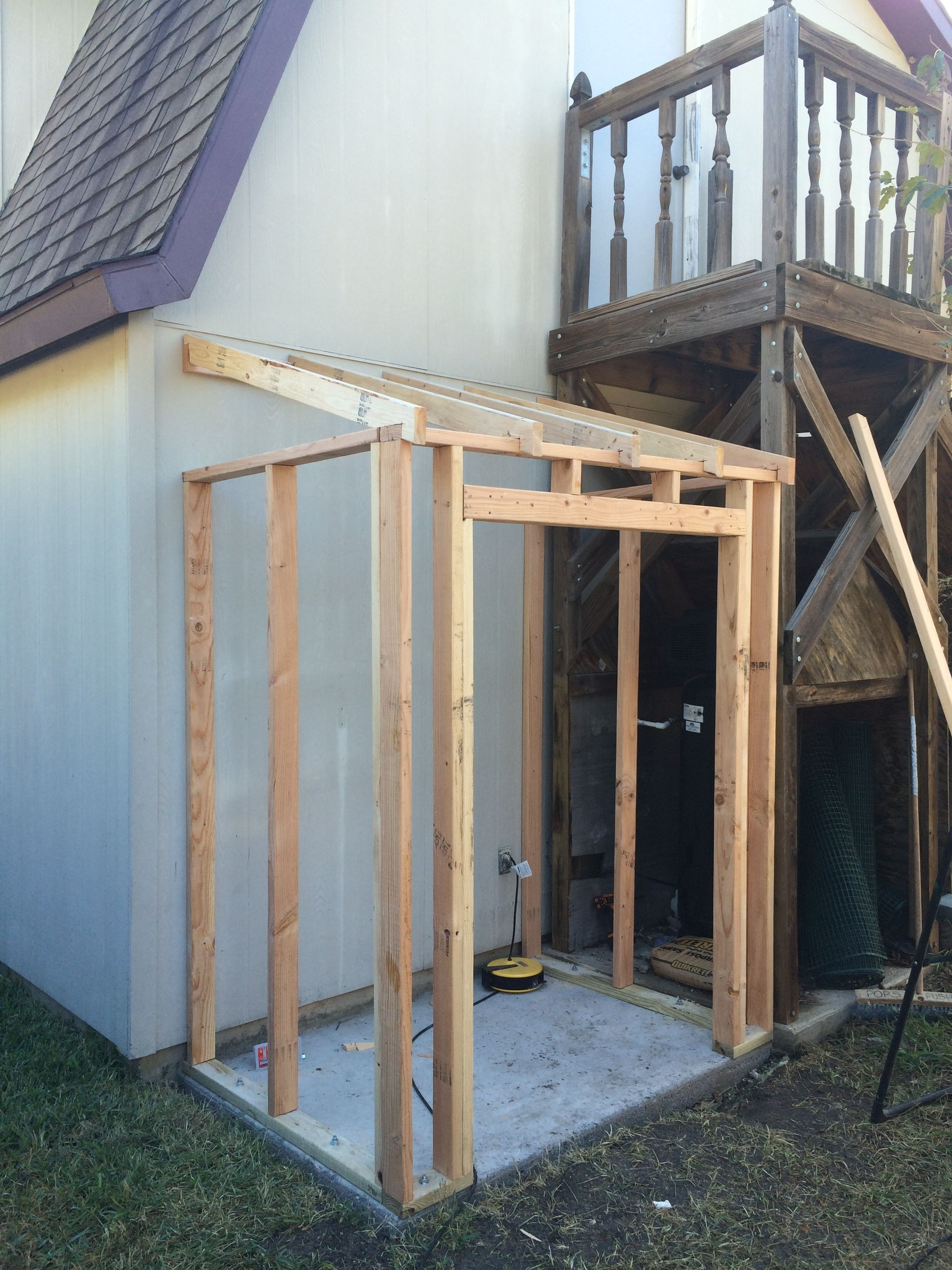 Building A Lean To Shed U2013 Framing And Siding