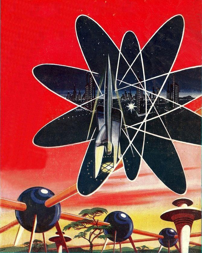 Atomic Age Illustration / Retro Futurism / Space Age