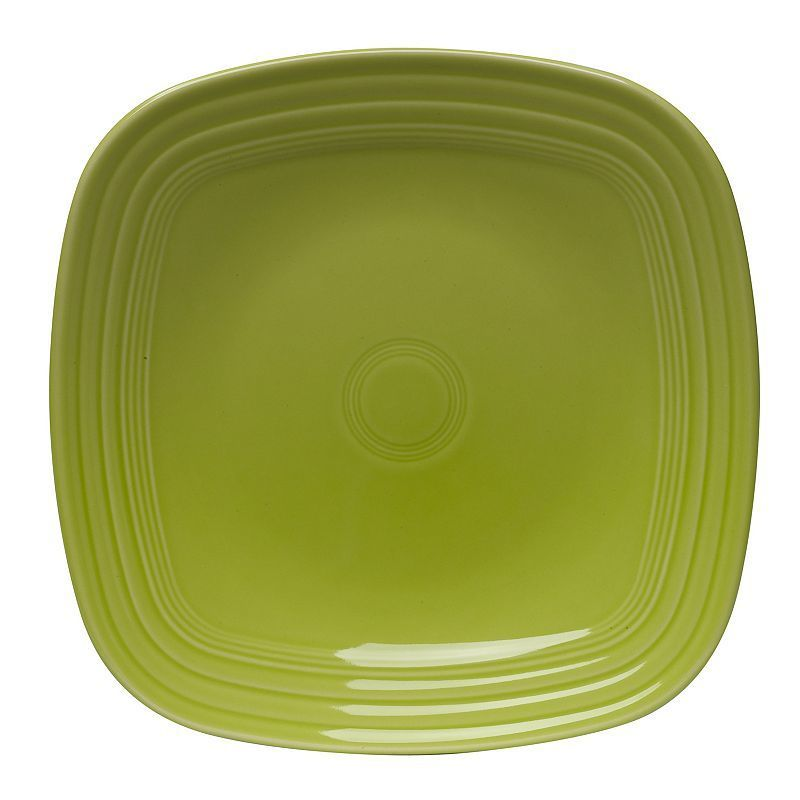 Fiesta Square Dinner Plate, Yellow