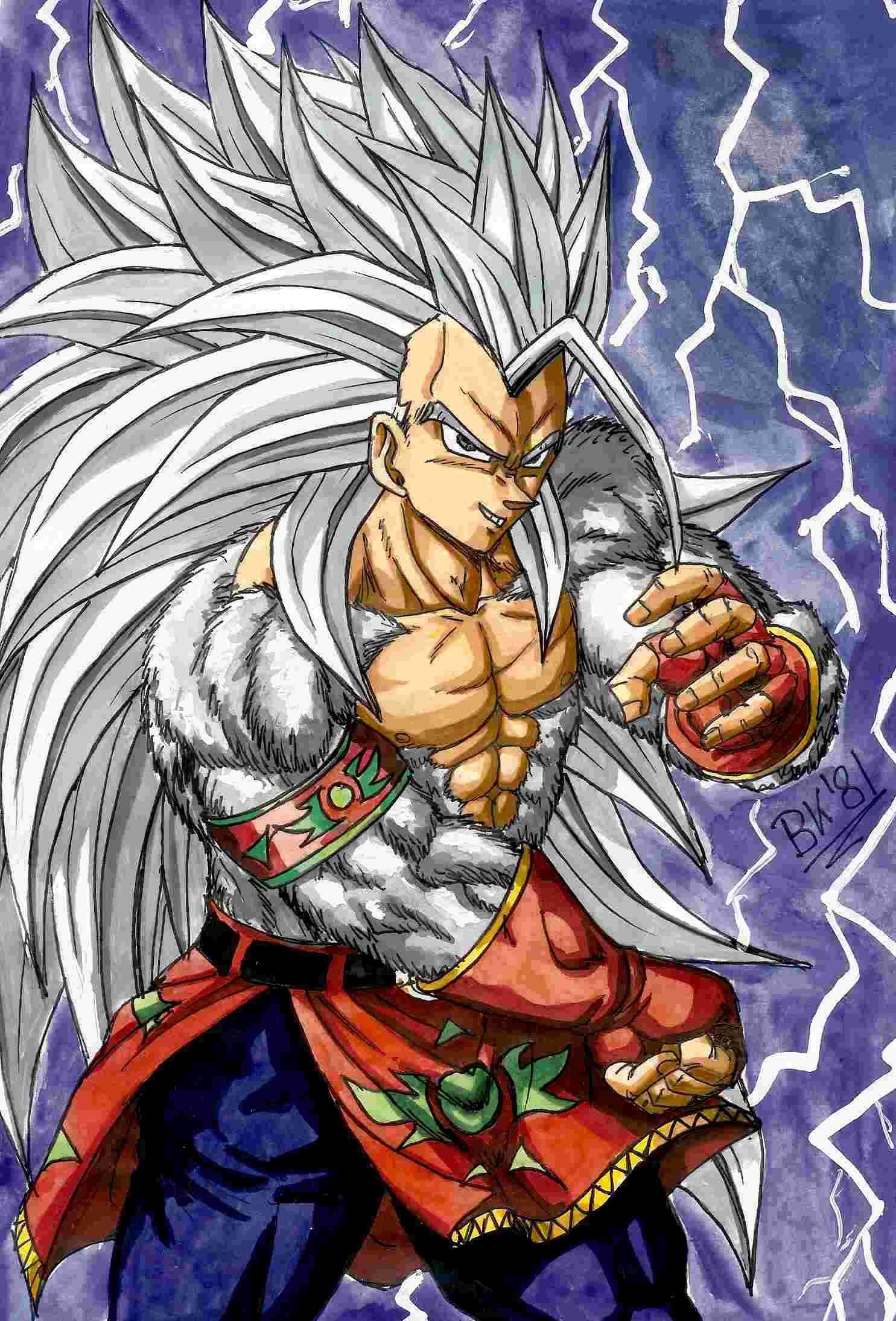 Vegeta Ssj5 Dragon Ball Wallpapers Anime Old Goku