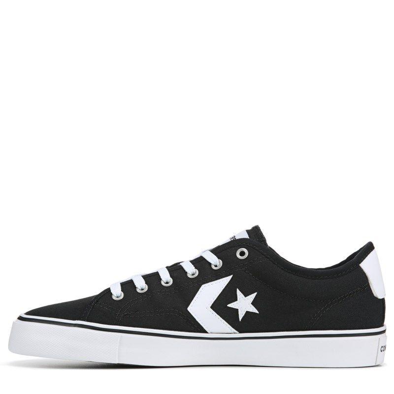 Converse Men s Star Replay Sneakers (Black White) ca8c66c36
