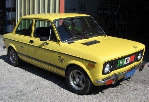 Fiat 128 Abarth Fiat 128 Fiat Fiat Abarth