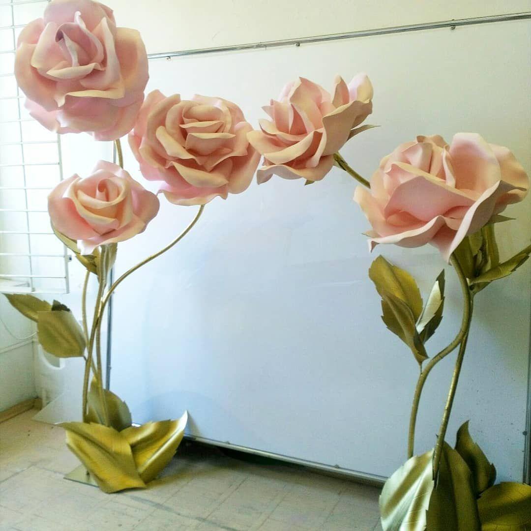 Изолон большие цветы как делать