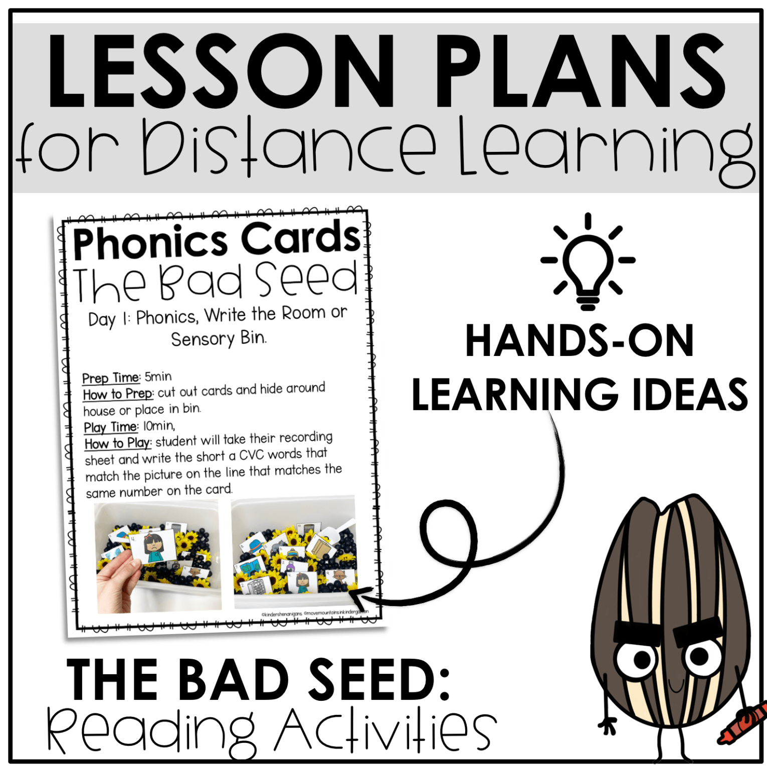 Kindergarten Lesson Plans Week One