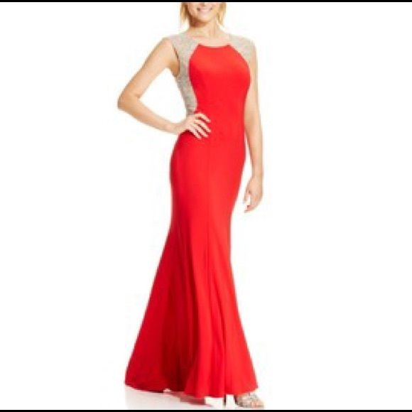 Xscape Dress Red