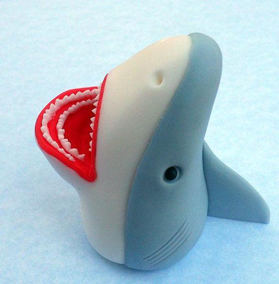recipe: shark cupcake topper [26]
