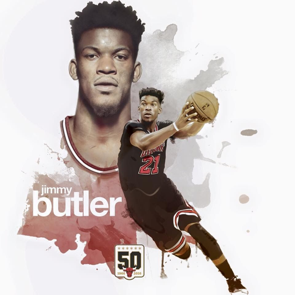 Jimmy Butler With Images Chicago Bulls Chicago Sports Da Bulls
