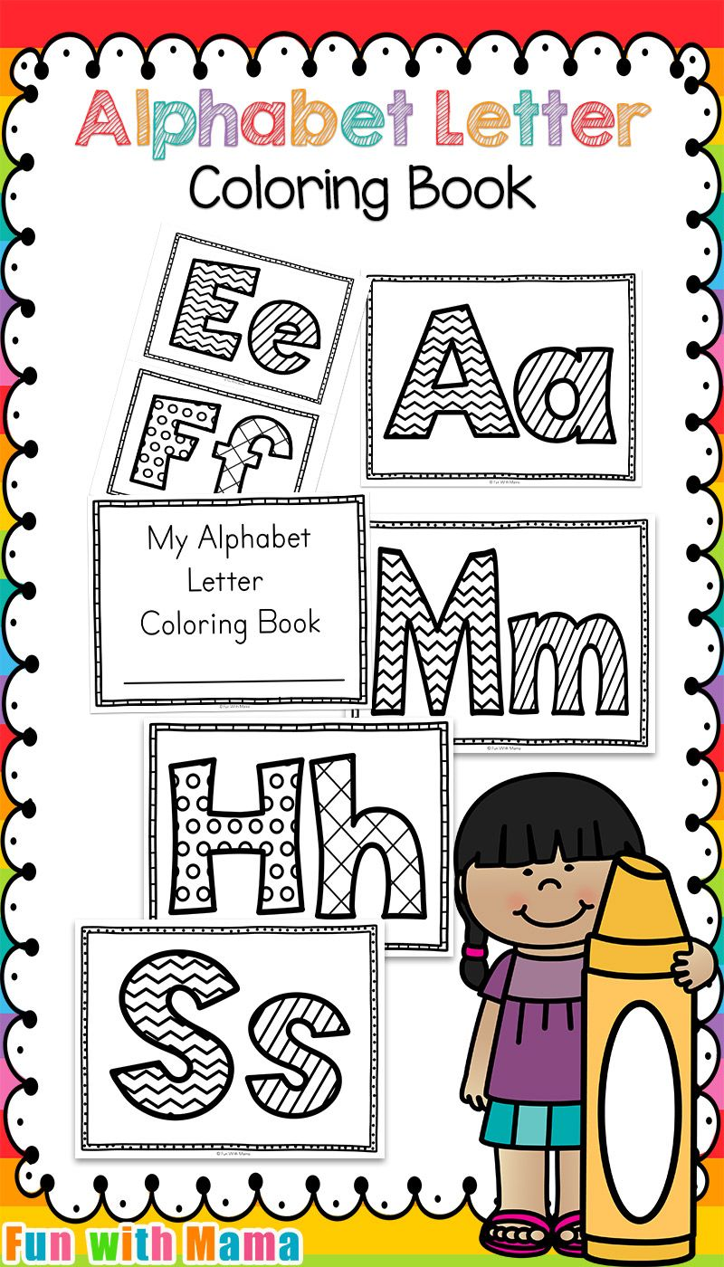 Alphabet Coloring Pages | Activities, Homeschool worksheets and ...