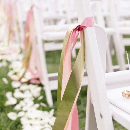 Stoelversiering Bruiloftdecoratie Diy Bruiloft Versiering Linten Bruiloft