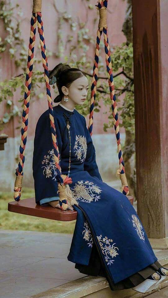 Yan Xi's Conquest 《延禧攻略》 - Wu Jin Yan. Qin Lan. Charmaine Sheh. Nie Yuan   Nhà thanh. Cô dâu. Thời trang