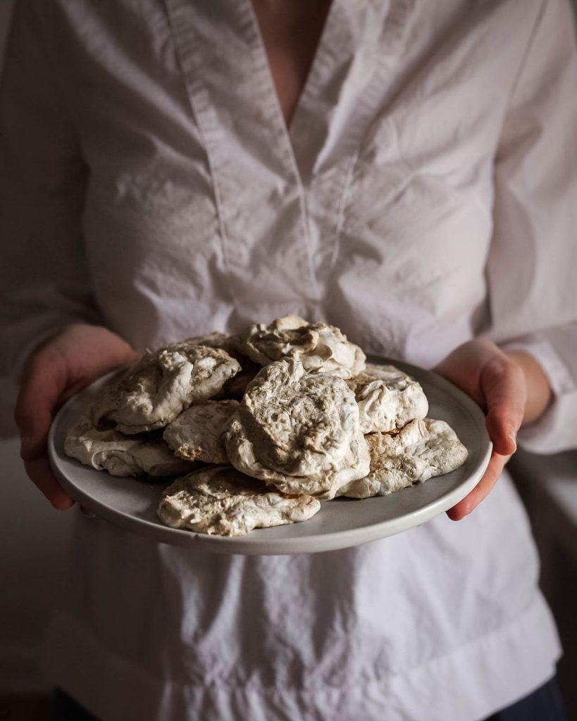 Halva + Tahini Forgotten Cookies - Pastry and Prose