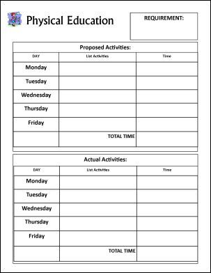 Physical Education Lesson Plan Template – 8  Free Sample, Example ...