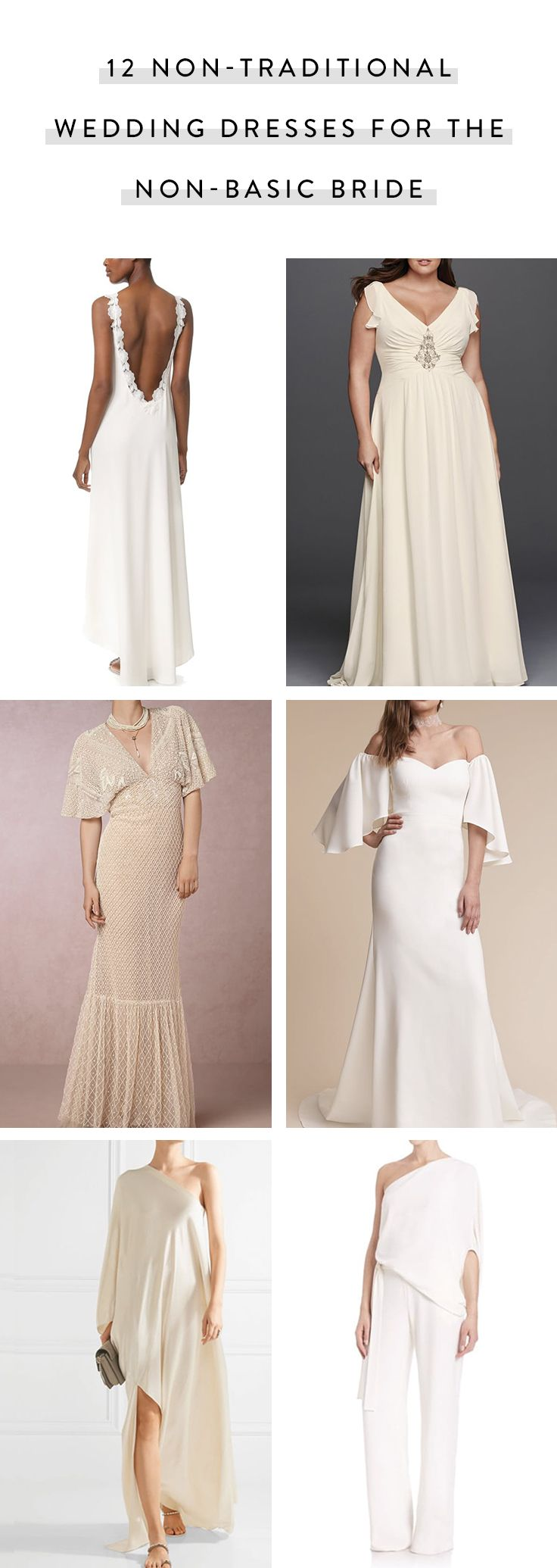 nontraditional wedding dresses for the nonbasic bride wedding