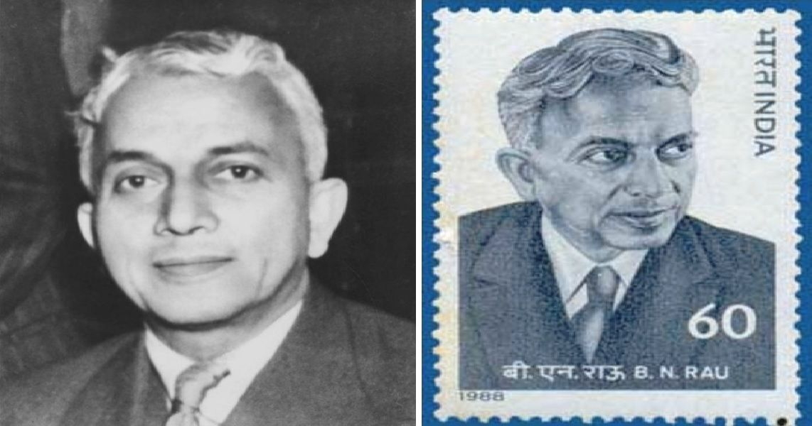 Sir Benegal Narsing Rau The First Indian To A