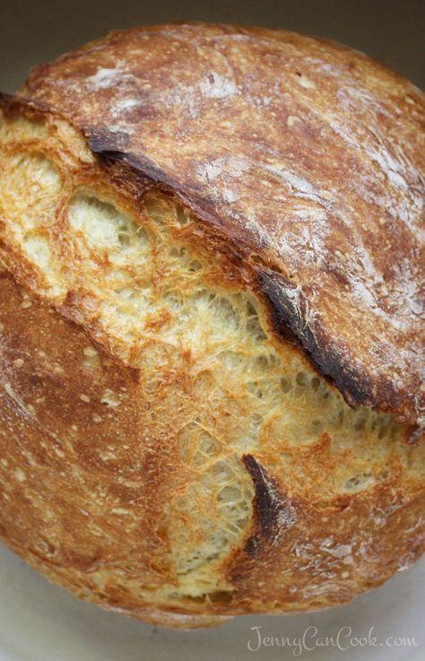 2 Stunden schnellstes Brot ohne Kneten