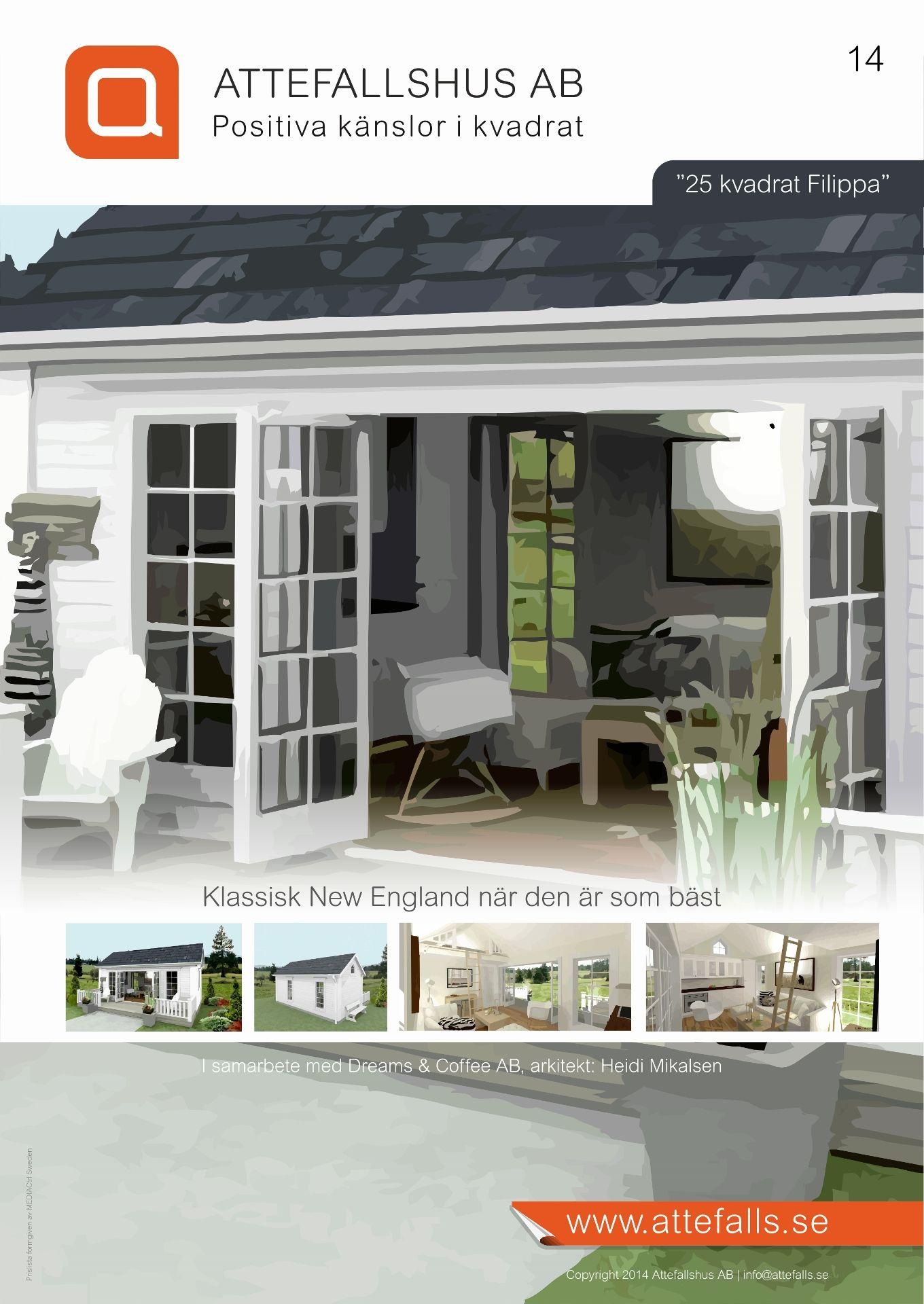 Köp ditt Attefallshu , bygglovsfria 25 m2 hus tillverkat av de ...
