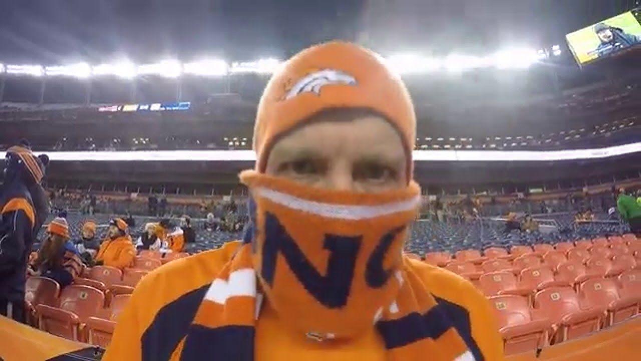 """Denver Broncos vs. Cincinnati Bengals, """"It's Not Cold"""" DJ"""
