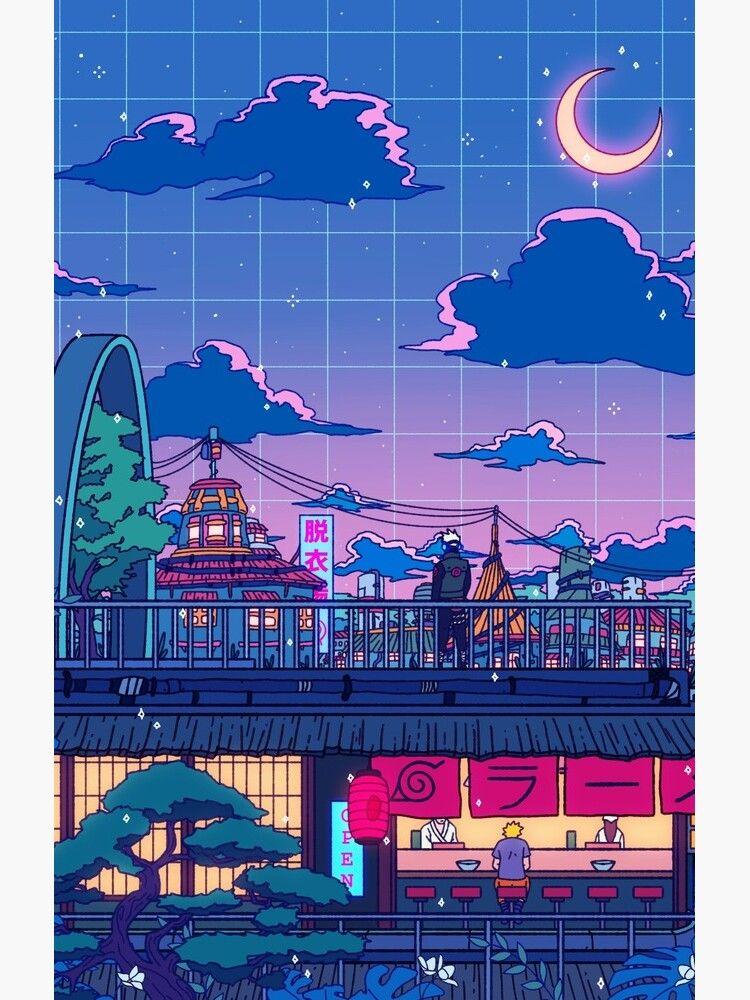 Konohagakure Case Skin For Samsung Galaxy In 2020 Aesthetic Anime Anime Wallpaper Naruto Wallpaper