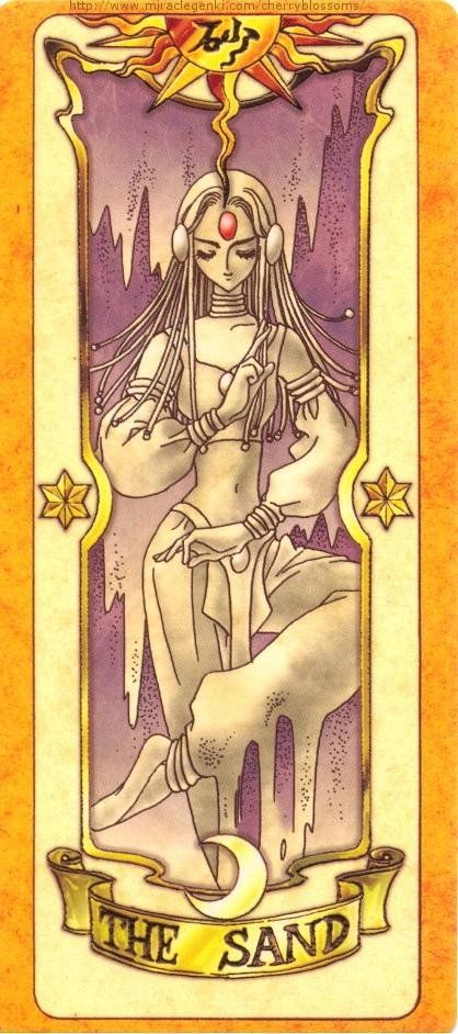 Clow Card ~ The Sand