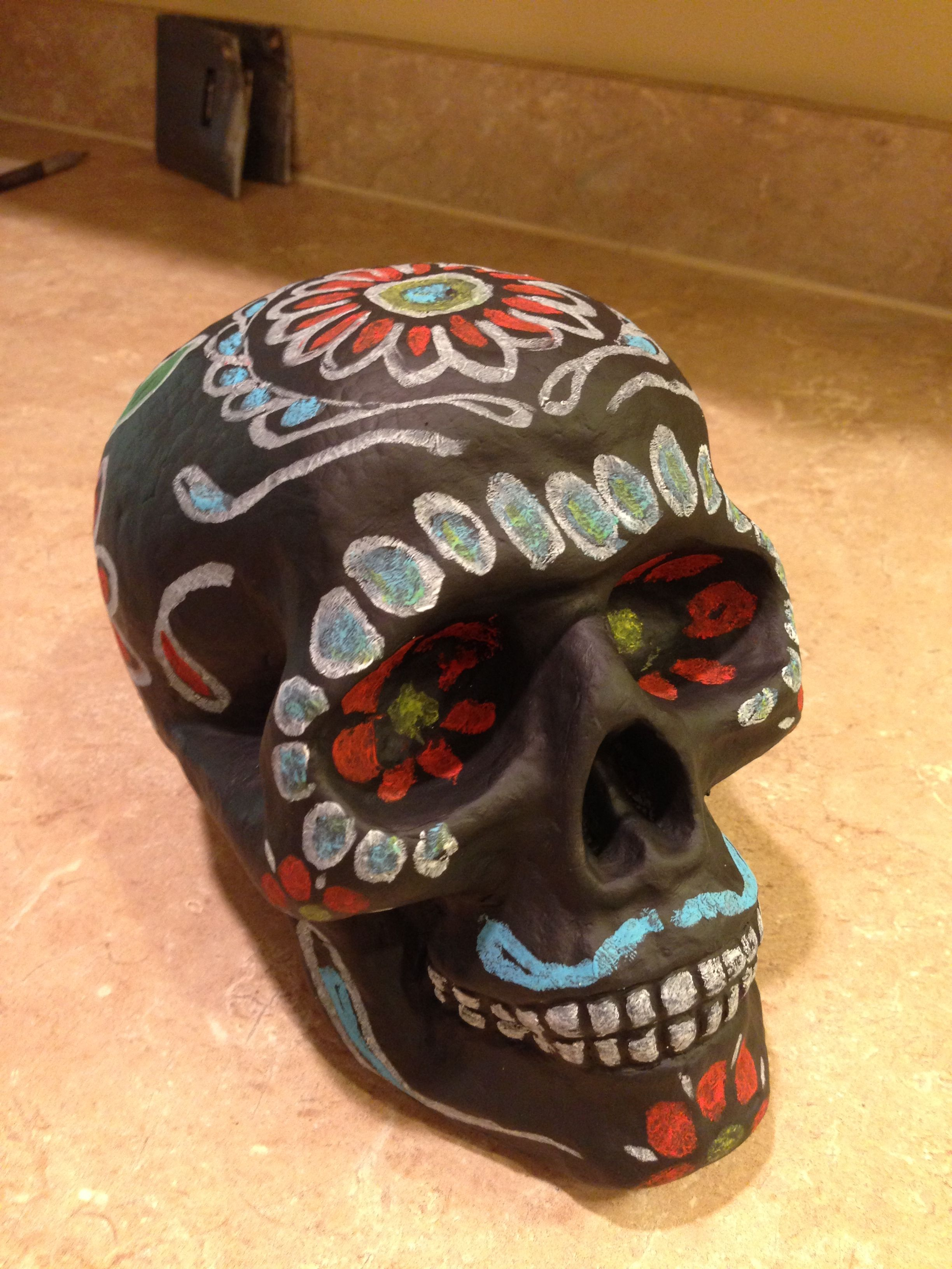 Cheap Foam Skulls